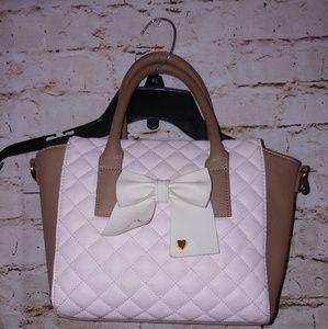 {Betsey Johnson} small satchel/crossbody purse